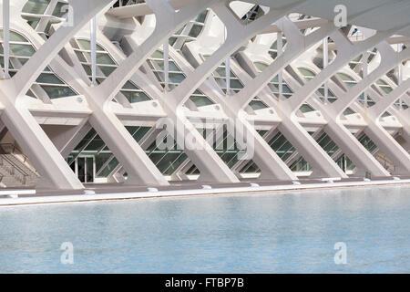 Museum Wissenschaften Principe Felipe, Valencia, Spanien. - Stockfoto