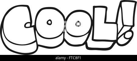 Cooles Freihand Gezeichnete Comic Buch Stil Cartoon Symbol Vektor