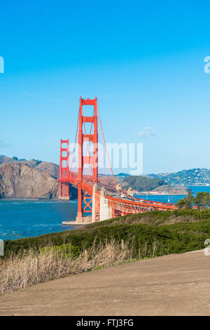 Golden Gate Bridge, San Francisco - Stockfoto