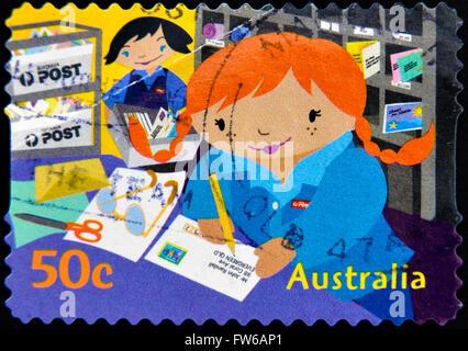Australien Ca 2006 Einen Stempel In Australien Gedruckten Zeigt