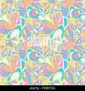 Nahtlose Muster in Pastellfarben - Stockfoto