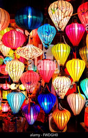 Bunte Laternen in Hoi an, Vietnam