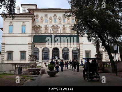 Rom, Italien: Villa Borghese - Stockfoto