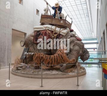 Das Royal Armouries Museum in Leeds, Yorkshire, England, Vereinigtes Königreich - Stockfoto