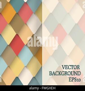 Raute modernen Hintergrund - Vektor-Illustration. EPS 10 - Stockfoto