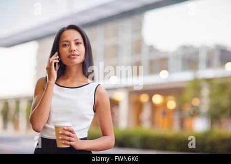 Geschäft für unterwegs - Stockfoto