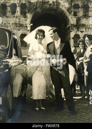 Brautpaar, Italien - Stockfoto