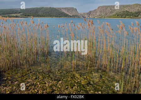 Visovac-See im Nationalpark Krka, Kroatien - Stockfoto