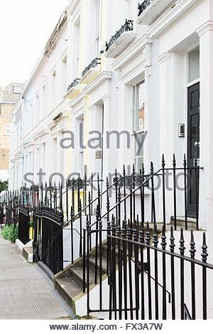 Denbigh Terrasse W11, Notting Hill, London, UK Stockfoto, Bild ...