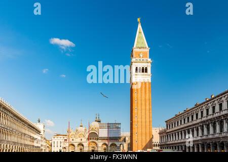Venedig, Piazza San Marko - Stockfoto
