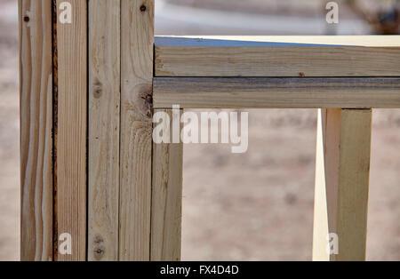 Bau Hausbau Industrie Zimmerei und beseitigen Details im Gange - Stockfoto