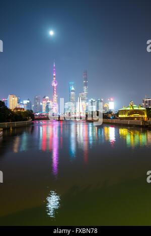 Skyline von Shanghai - Stockfoto