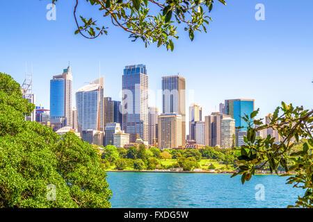 Sydney, New South Wales, Australien, skyline - Stockfoto