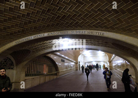 Die whispering Gallery in Grand Central Station in New York City, Vereinigte Staaten von Amerika. - Stockfoto