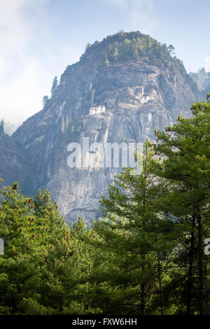 Paro Taktsang ist der populäre Name Taktsang Palphug Kloster, ein prominenter Himalayan buddhistische Heilige Stätte und Tempel-Komplex