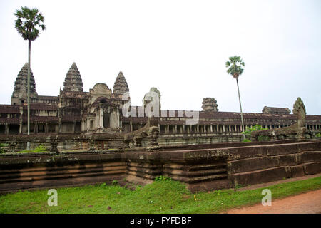 Tempel von Angkor Wat. - Stockfoto