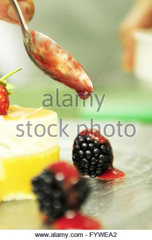 Dessert-Torten - Stockfoto