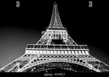 Eiffelturm in künstlerischen Ton - Stockfoto
