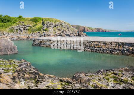 Stackpole Kai - Pembrokeshire - Stockfoto
