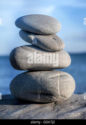 Kieselsteine zen - Stockfoto