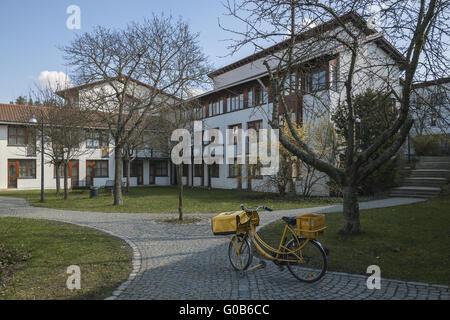Post-Rad in der technologischen Hochschule Hof - Stockfoto