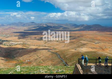 Espagne, Iles Kanarischen Inseln, Fuerteventura, Betancuria, Mirador de Morro Velosa / / Spanien, Kanarische Inseln, - Stockfoto