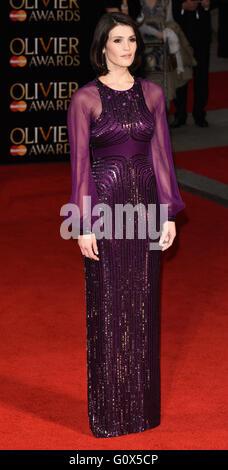 Die Olivier Awards 2016 am Royal Opera House, Covent Garden, London mit: Gemma Arterton wo: London, Vereinigtes - Stockfoto