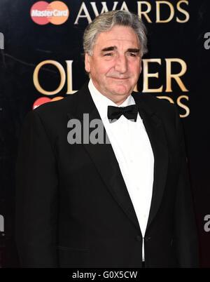 Die Olivier Awards 2016 am Royal Opera House, Covent Garden, London mit: Jim Carter wo: London, Vereinigtes Königreich - Stockfoto