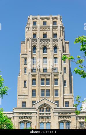 Fassade des Gebäudes in Toronto Ontario, Kanada - Stockfoto