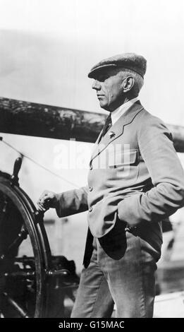 Roald Engelbregt Gravning Amundsen (16. Juli 1872 - 18. Juni 1928) war ein norwegischer Entdecker der Polarregionen. - Stockfoto