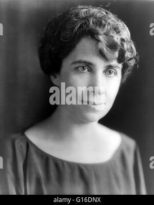 Grace Anna Goodhue Coolidge (3. Januar 1879 - 8. Juli 1957) war die Ehefrau von Calvin Coolidge und First Lady der - Stockfoto