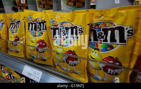 m & m, Schokolade, UK - Stockfoto