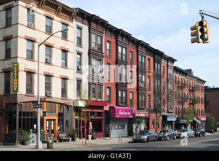 7th Avenue in Brooklyn, New York, USA - Stockfoto