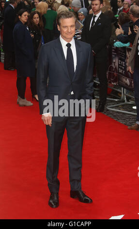 11. April 2016 - Colin Firth Teilnahme an Auge in der Sky UK Premiere beim Curzon, Mayfair in London, Vereinigtes - Stockfoto