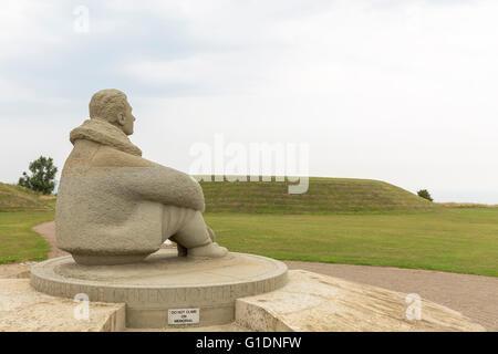 Battle of Britain Memorial, Folkestone, Kent, UK - Stockfoto