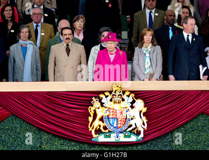 Windsor, 14.05.2016 HM Königin Elizabeth, König von Bahrain, HM ...