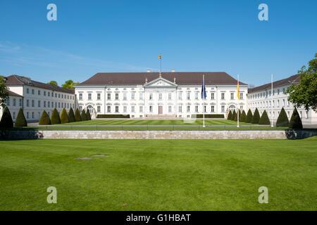 Das Bellevue Palace Heimat des Bundespräsidenten in Berlin Deutschland. - Stockfoto