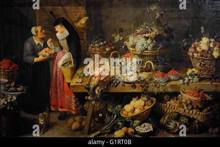 frans snyders 1579 1657 fl mischer maler gem semarkt l auf leinwand die eremitage sankt. Black Bedroom Furniture Sets. Home Design Ideas
