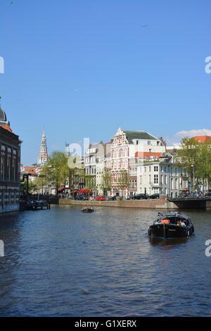 Die Grachten von Amsterdam, Holland - Stockfoto
