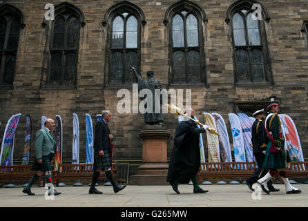 Edinburgh, Schottland. 24. Mai, 2016.The Kirche von Schottland: Edinburgh Generalversammlung 2016. Lord High Commissioner, - Stockfoto