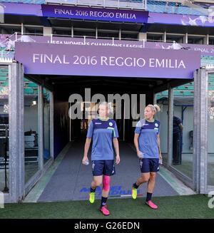 Reggio Emilia, Italien. 25. Mai 2016. Ada Hegerberg bei Olympique ...