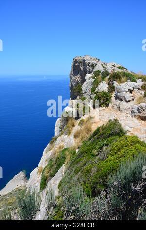 Cap de Formentor im Norden von Mallorca, Spanien - Stockfoto