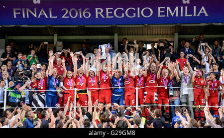 Tricolore-Stadion, Italien. 26. Mai 2016. Reggio Emilia (Italien ...