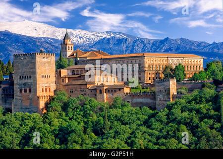Die Alhambra in Granada - Stockfoto