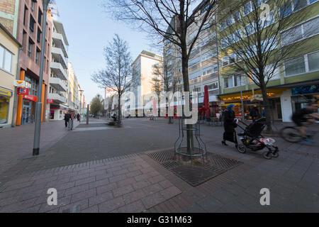Ludwigshafen, Deutschland, Geschäfte in der Fußgängerzone Bismarkstrasse - Stockfoto