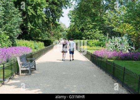 Hyde Park, City of Westminster, London, England, Vereinigtes Königreich - Stockfoto