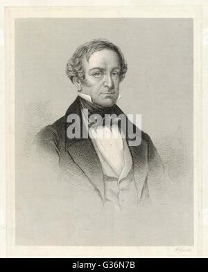 Sir Robert Peel (1788-1850), der jüngere (2. Baronet), britischer Staatsmann und Premierminister.        Datum: - Stockfoto