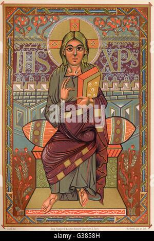 JESUS von NAZARETH Datum: 6 v. Chr. - 30 n. Chr. - Stockfoto