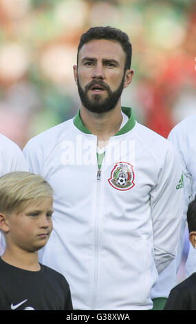 Los Angeles, Kalifornien, USA. 9. Juni 2016. Mexiko-Verteidiger Miguel Layun #7 in einer Copa America Fussball match - Stockfoto