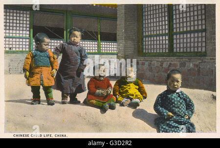 Chinesischen Kleinkinder - man heulen seine/ihre Augen heraus einige schreckliche Ungerechtigkeit (oder haben nur - Stockfoto